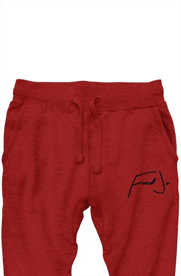 Fred Jo premium joggers Red - Fred jo Clothing