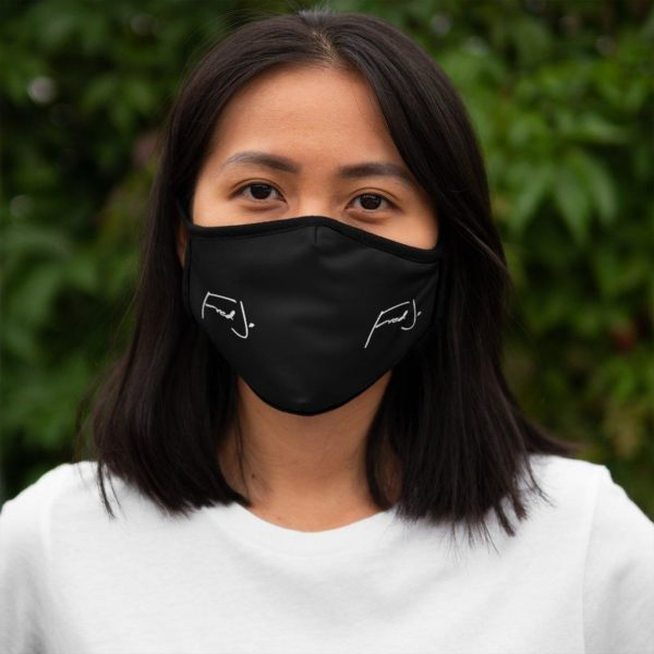 Fred Jo Fitted Polyester Face Mask - Fred jo Clothing