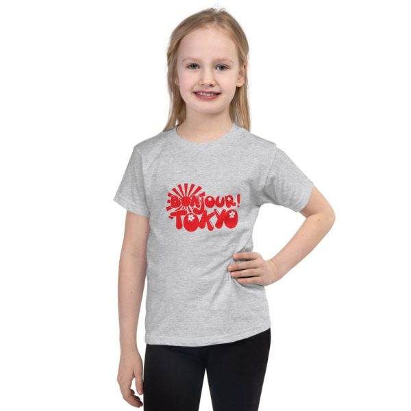 Bonjour Tokyo kids t-shirt by Fred Jo - Fred jo Clothing